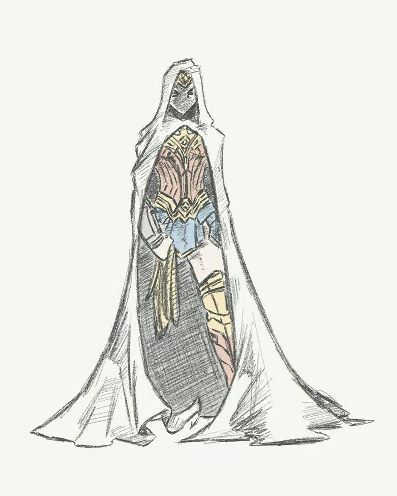Wonder Woman sketch 12.6.17 by itamar050
