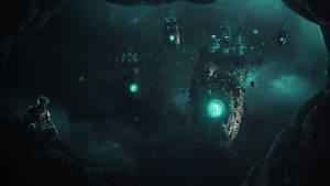 [Photo Manipulation] The Cave Dweller