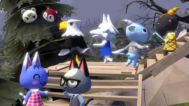 SFM My friends from Animal Crossing