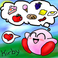 Kirby by ice-kitsune