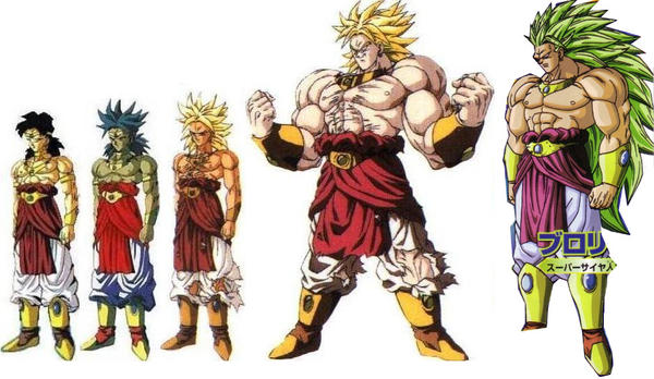 All Broly Transformations | www.imgkid.com - The Image Kid ...
