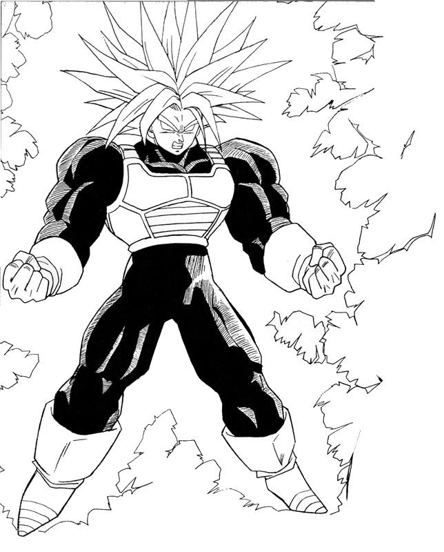 Ultra Trunks Super Saiyan By Kibasennin