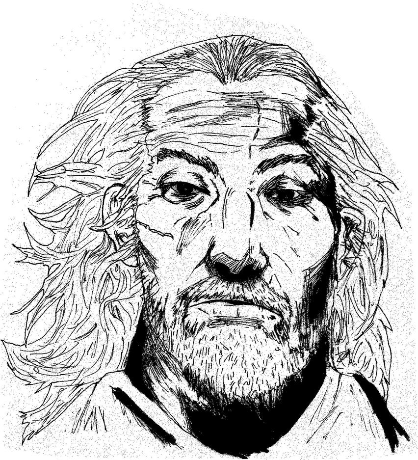Takehiko Inoue Old Musashi: Old Man Musashi From Vagabond By Kibasennin On DeviantArt