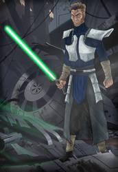Kofun Jedi Armor by kibasennin