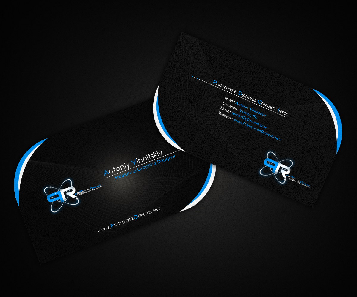 PR Designs Business Card by Techmaster05