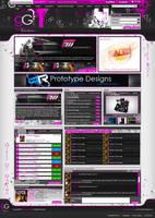Girlz of Gaming Webdesign by Techmaster05