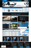 360icons V2 Site Design by Techmaster05