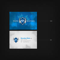 WoW Battles Business Card by Techmaster05