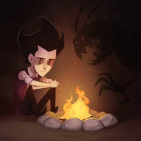 Don't Starve: It's dark in here by ShinySoul