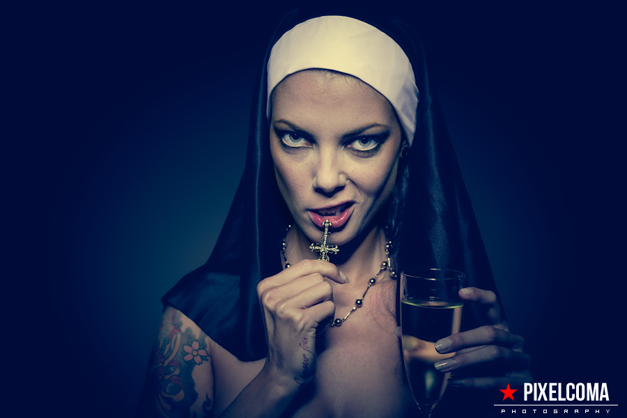 Mend my wicked ways... by Pixelcoma