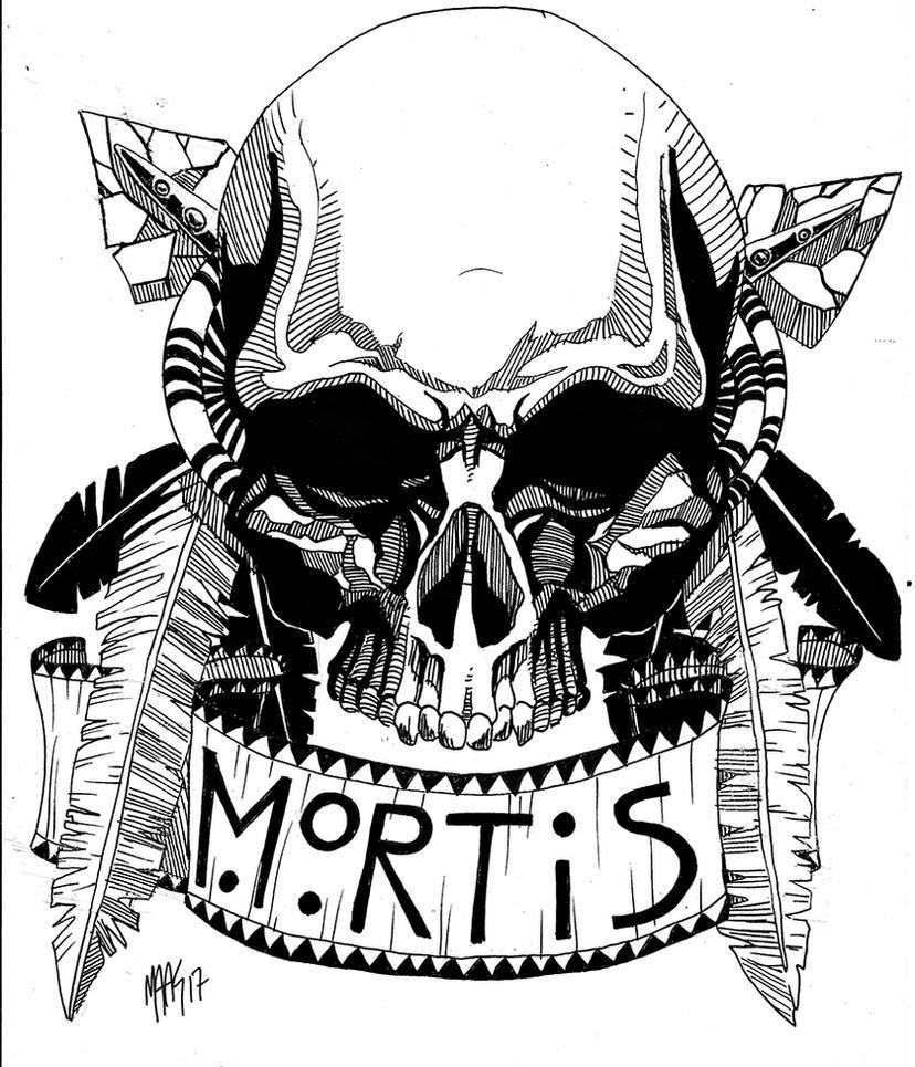 Skull (native american attempt) by Maas-kritik