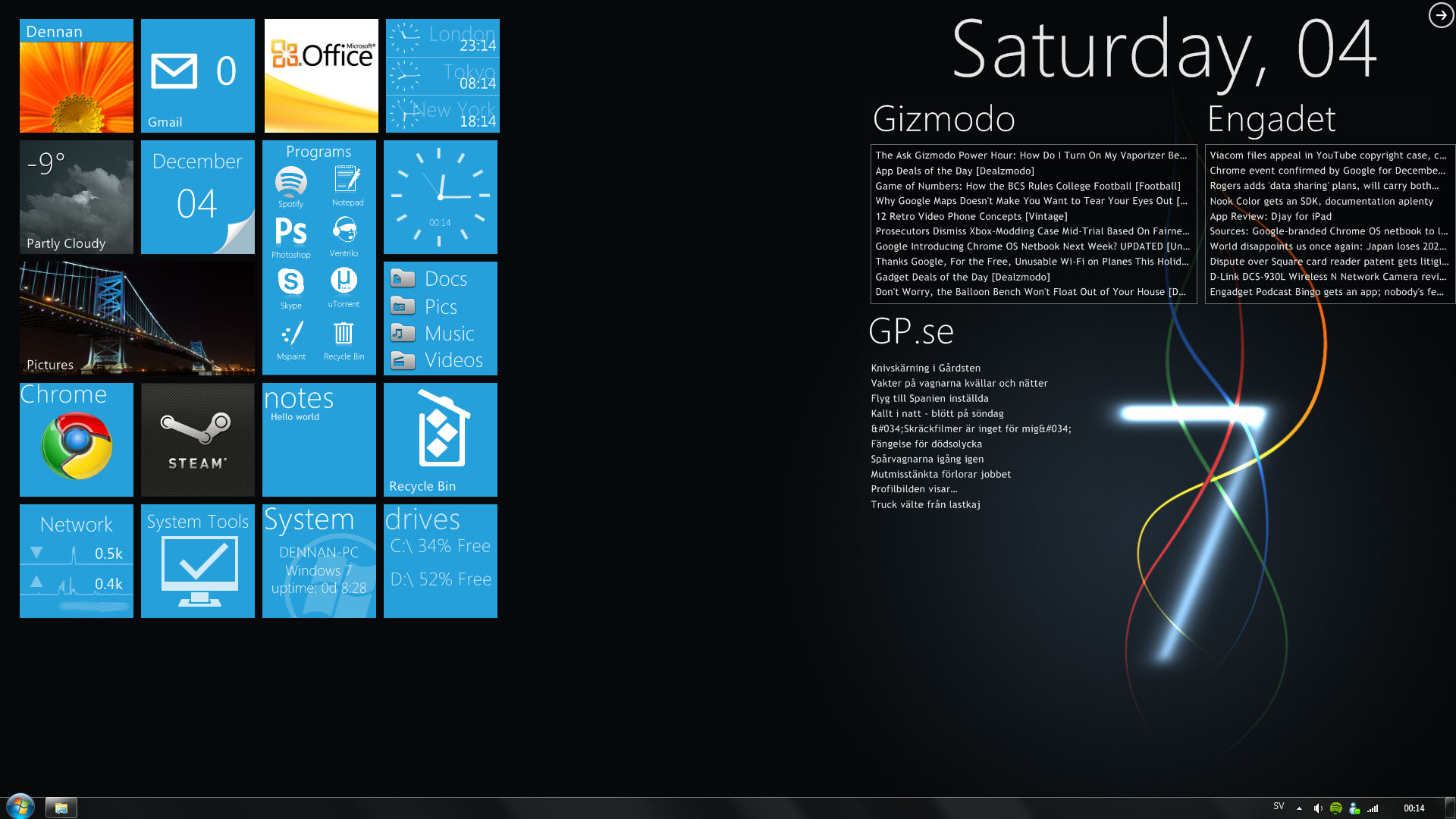 Windows Phone 7 Desktop By Skeesy On Deviantart