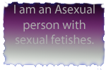 Asexual with fetishes -stamp- by OneLoveDrew