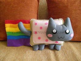 Nyan-cat plush!! by yuriarrow