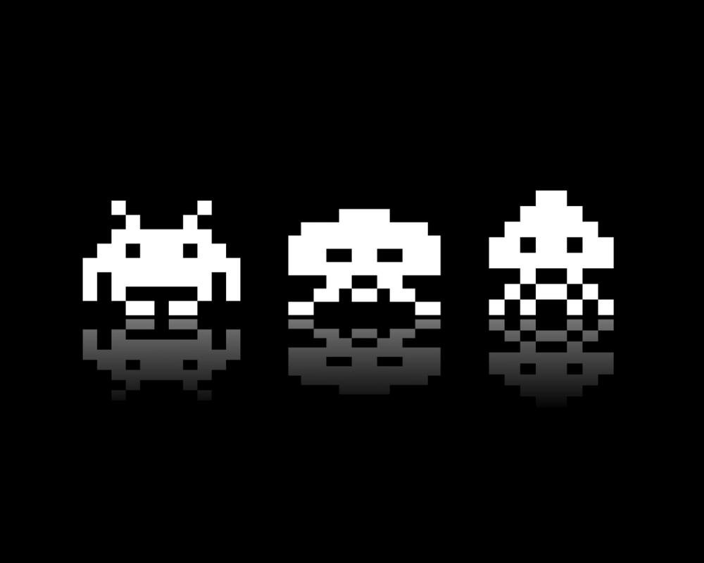 Space Invaders by molotov-arts