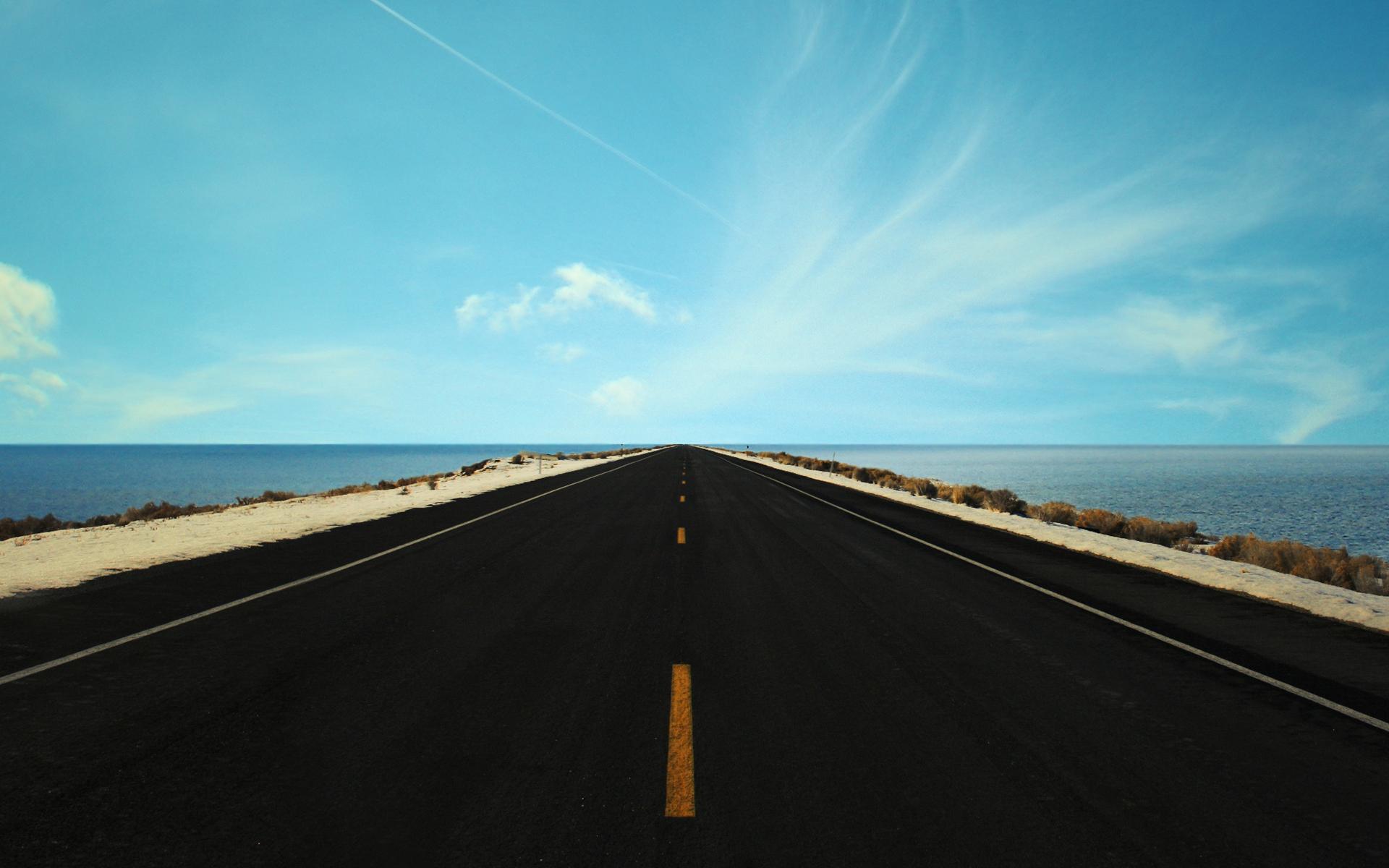 Sunny Road by molotov-arts