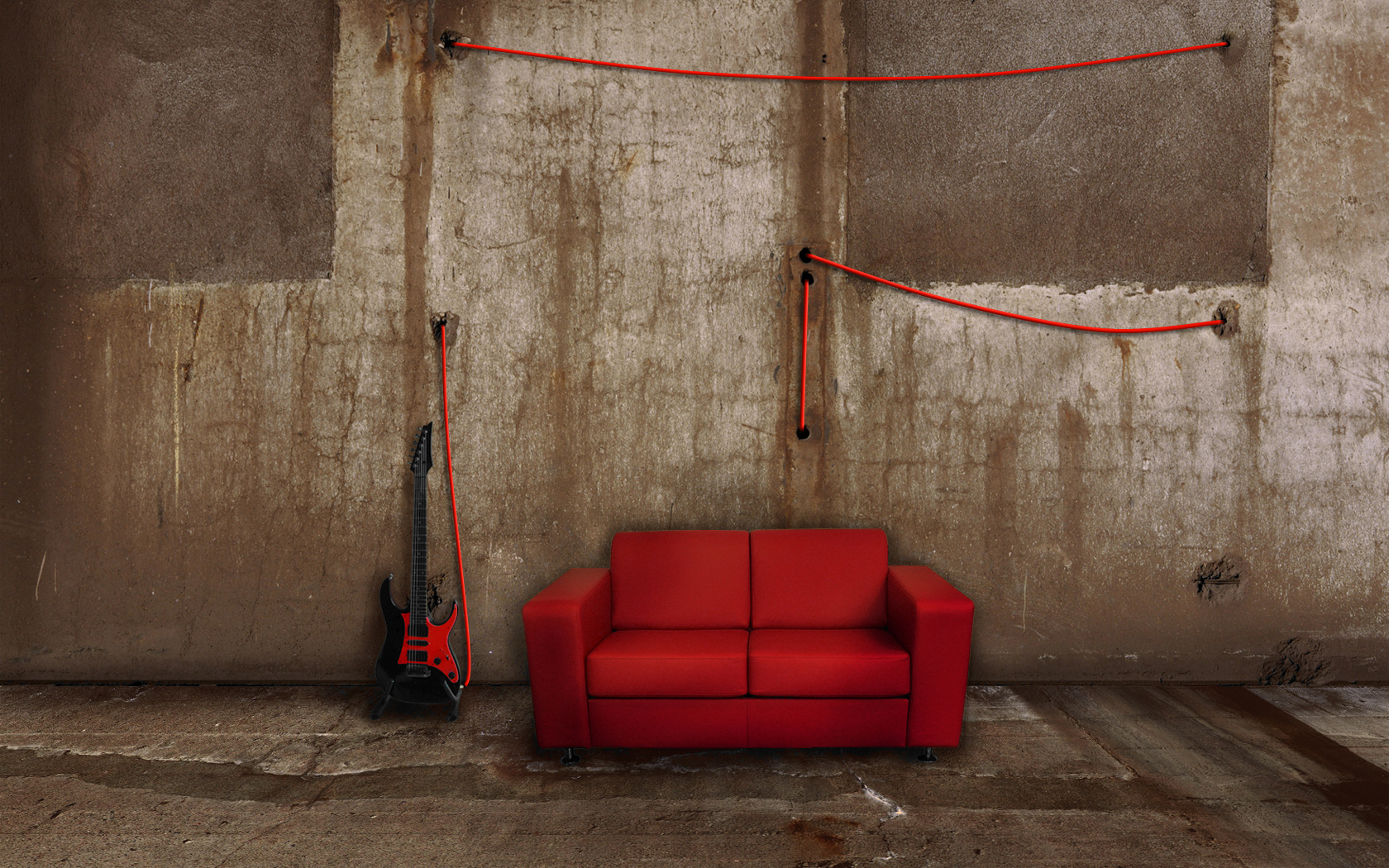 The Couch 2 - Red by molotov-arts