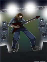Seb the Guitarist by Axleonder