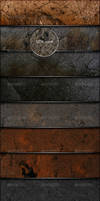 8 Grunge Textures with realist