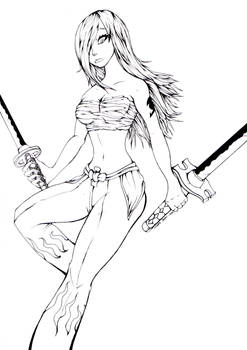 Erza Lineart
