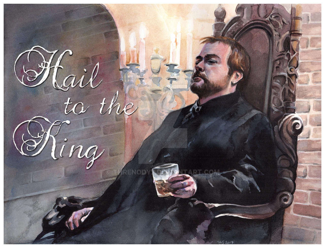 Hail to the King by Threnody2