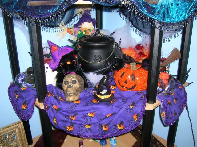 Samhain Altar by softpaw