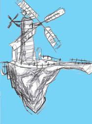 Windmill Island by oceanbacon