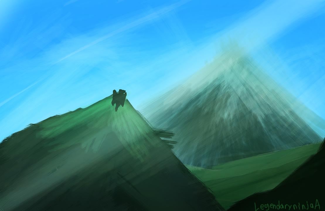 Mountains are MOuntainy by legendaryninjaA