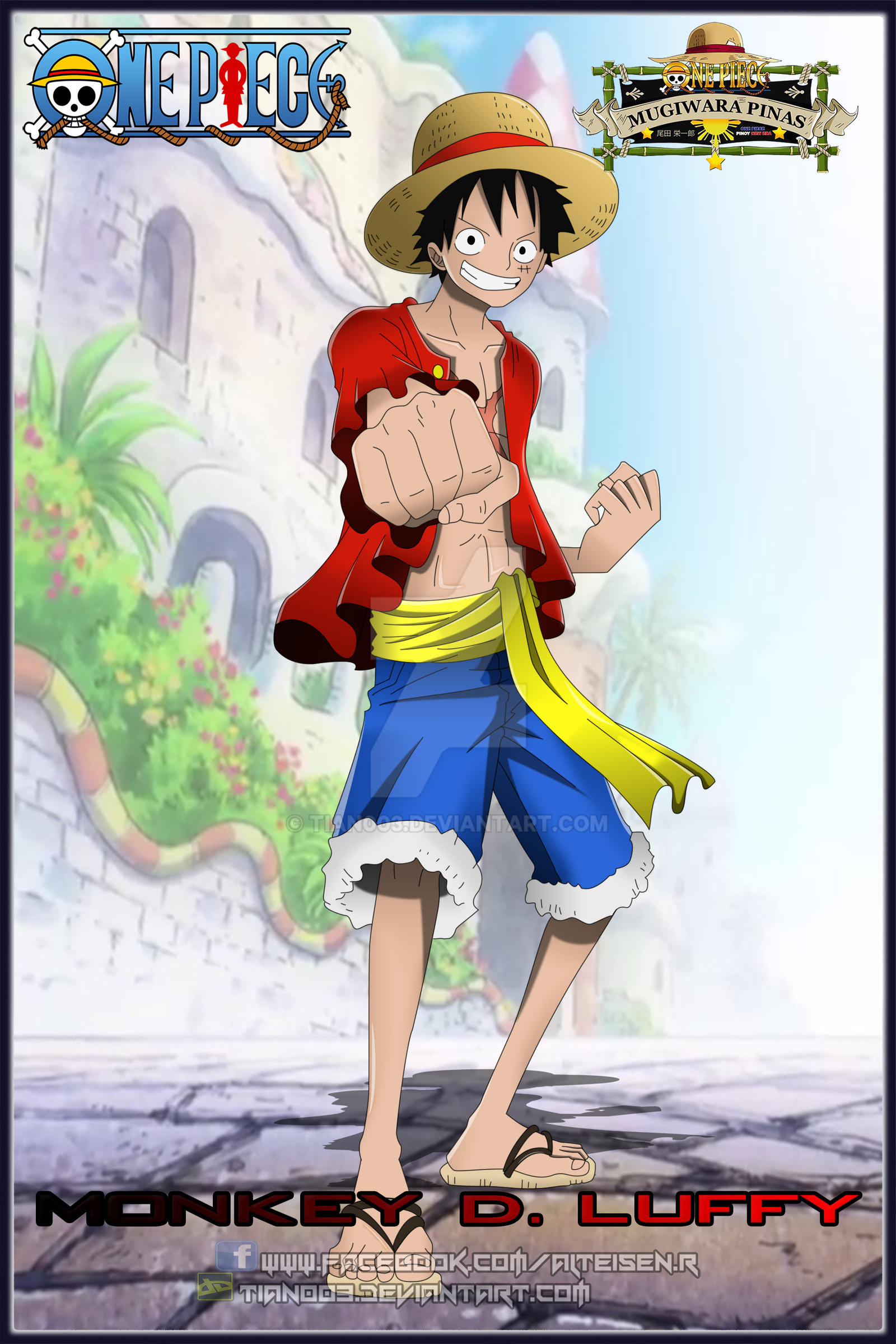 Monkey D. Luffy Post Time Skip by Tian003 on DeviantArt