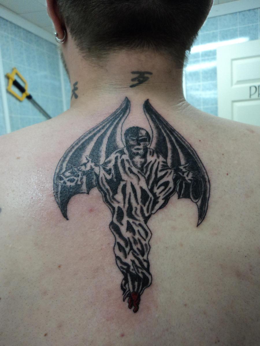Winged Demon tattoo