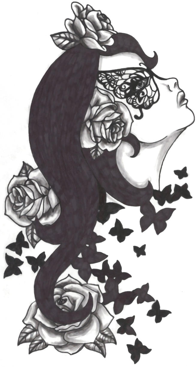the butterfly lady by spellfire42489 on DeviantArt