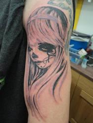 328e7f173 spellfire42489 3 2 Pastel Sugar Skull Girl Tattoo by spellfire42489
