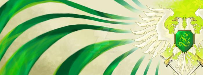 Green Aquila Banner