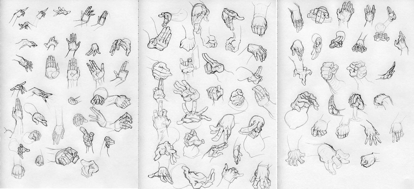 Hand Study by Lehosh by Lehosh