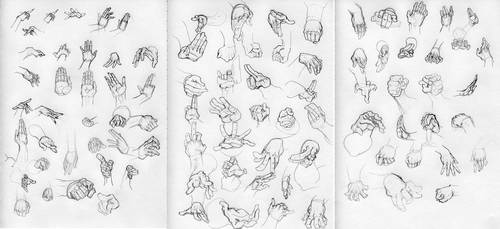 Hand Study by Lehosh