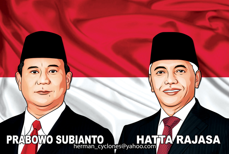 Prabowo-Hatta by cyclones