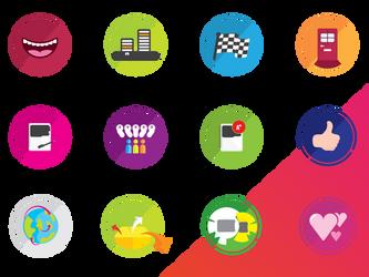 Gamification Badges by Manisha-Prabhakar