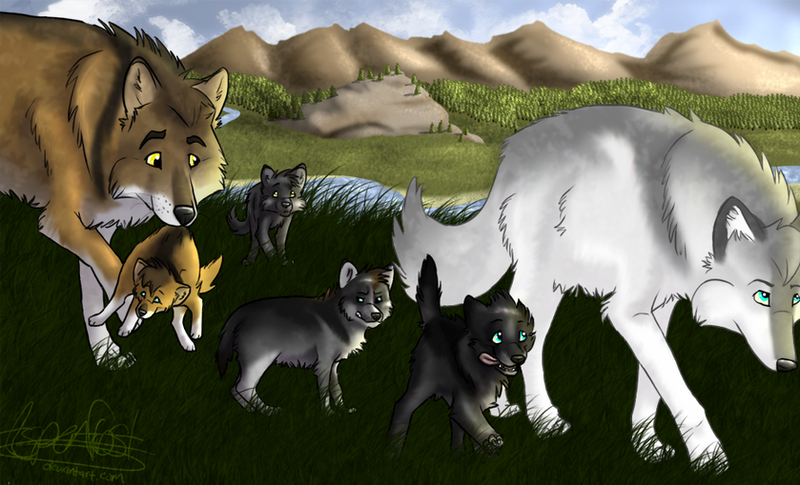 Wolfquest explore wolfquest on deviantart daffodille 711 95 survival of the pack by aspenfrost ccuart Choice Image