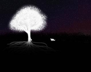 Spirit tree by Alicornbrodie
