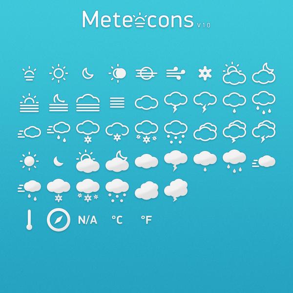 Descargar -  Meteocons