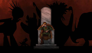 King of the Wilderwest: Full image by Elfpen