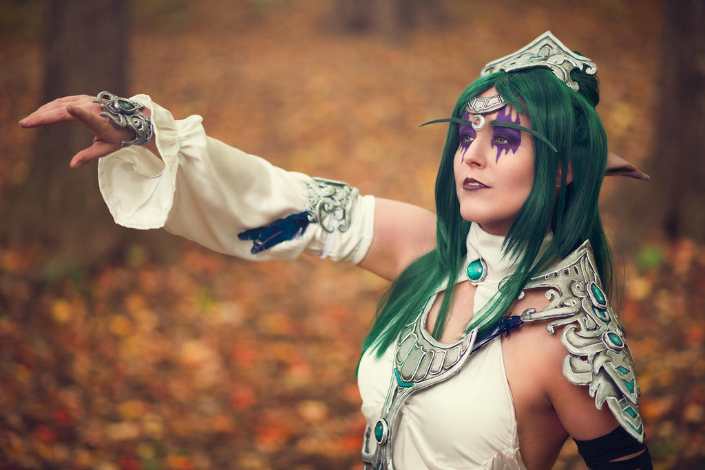I hear the voice of Elune. - Tyrande Whisperwind by
