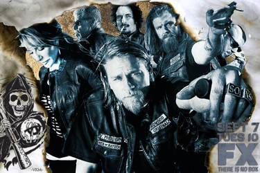 Sons Of Anarchy Season 3 WIP by suolasPhotography