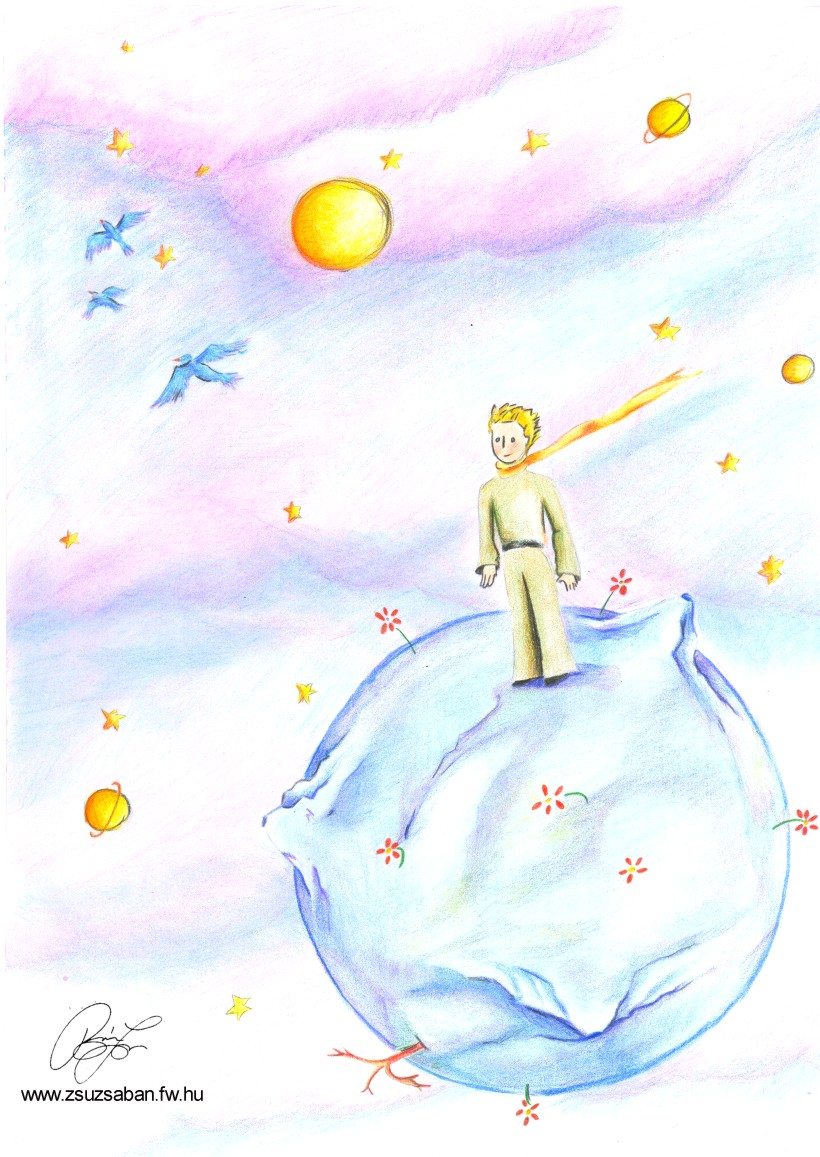 Le Petit Prince By Zs Ban On Deviantart