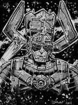 Galactus and Silver Surfer by seanplenahan