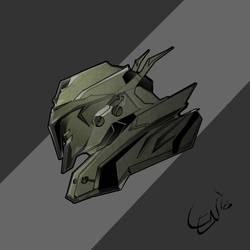 Mech Head_001 by seanplenahan