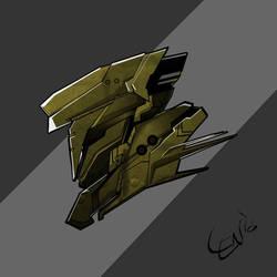 Mech Head_002 by seanplenahan