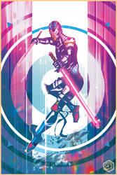 Neon Blade by seanplenahan