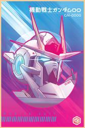 Gundam00 by seanplenahan