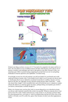 Pony Personality
